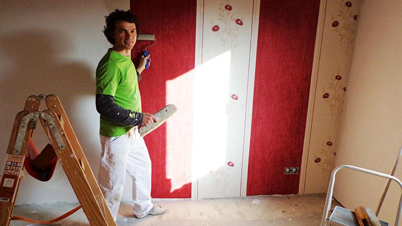 tapezierer fellbach tapezieren aller r ume malermeister ippolito. Black Bedroom Furniture Sets. Home Design Ideas